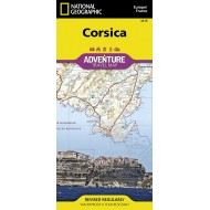 Corsica 1/150.000 Carte National Geographic Society