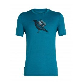 Tech Lite Short Sleeve Crewe Ravencamp Icebreaker