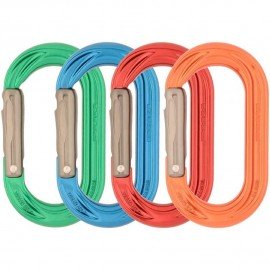 PerfectO Straight Gate Colour  4 Pack Mousqueton oval DMM