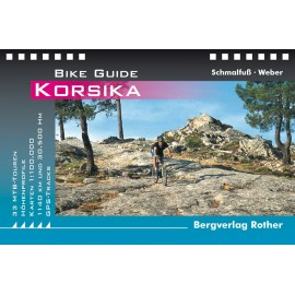 Korsika Bike Guide Bergverlag Rother