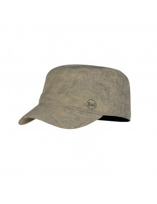 Zinc Taupe Brown Casquette Military Buff
