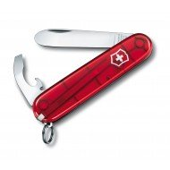 My First Victorinox couteau suisse rouge transparent