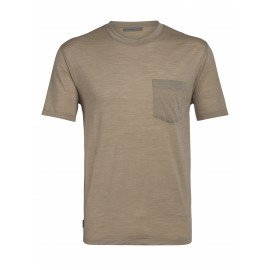 Nature Dye Galen Short Sleeve Pocket Crewe T-shirt Icebreaker